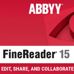 download abbyy finereader 15