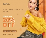 Zaful Up to 50% OFF for Women clothes!