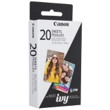 Canon ZP-2030-20 ZINK Photo Paper Pack (20 Sheets) for MPP1 Mini Photo Printer