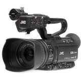 JVC GY-HM250 12.4MP 4K UHD Camcorder with FHD Streaming W/Sachtler Ace M Tripod