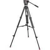 Sachtler 1001 3-section Aluminum Tripod w/Sachtler Medium Camporter Camera Bag