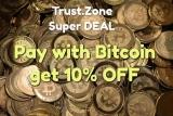 10% OFF Discount Trust Zone VPN SiteWide